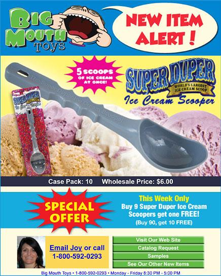Ice cream scooper resume