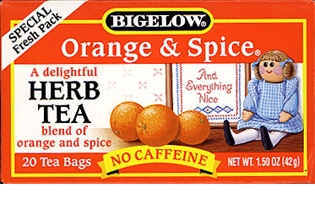 Bigelow Tea Orange Spice