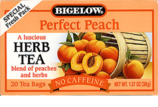 Bigelow Tea Peach