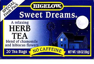 Bigelow Tea Sweet Dreams