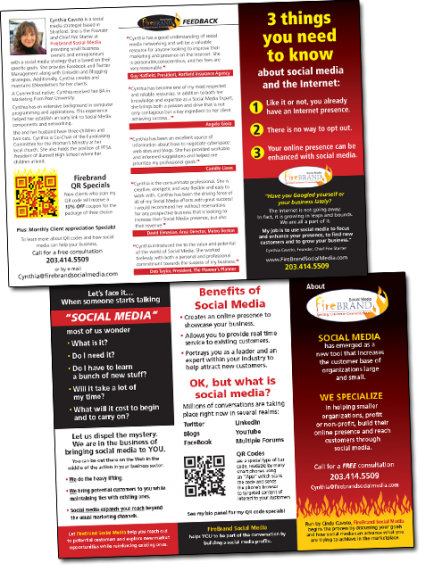 FireBrand Social Media Tri-Fold