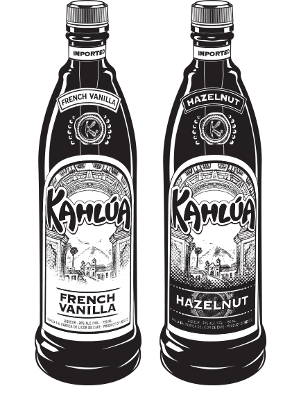 Kahlua Ad Slick Art