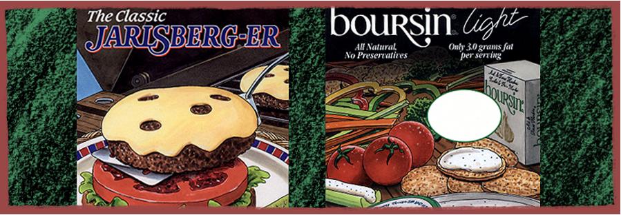 Jarlsberg and Boursin Deli Cards
