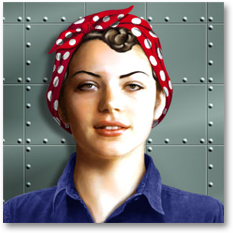 Women Through the Ages: Rosie the Riveter