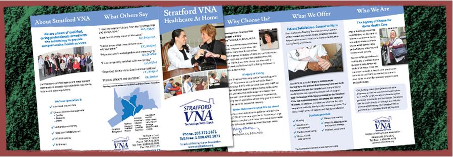 Stratford VNA Trifold Brochure