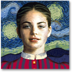 Women Through the Ages: Van Gogh Woman
