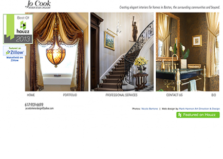 Jo Cook Interiors Website