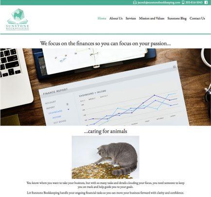 Sunstone Bookkeeping Website