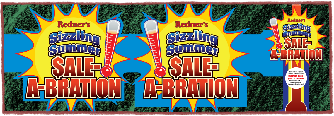 Redner's Point-of-Sale Materials