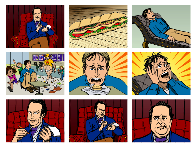 "Subway ""Subconscious"" Storyboard"
